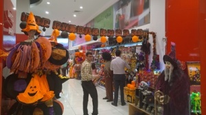 Daiso Halloween in Dubai