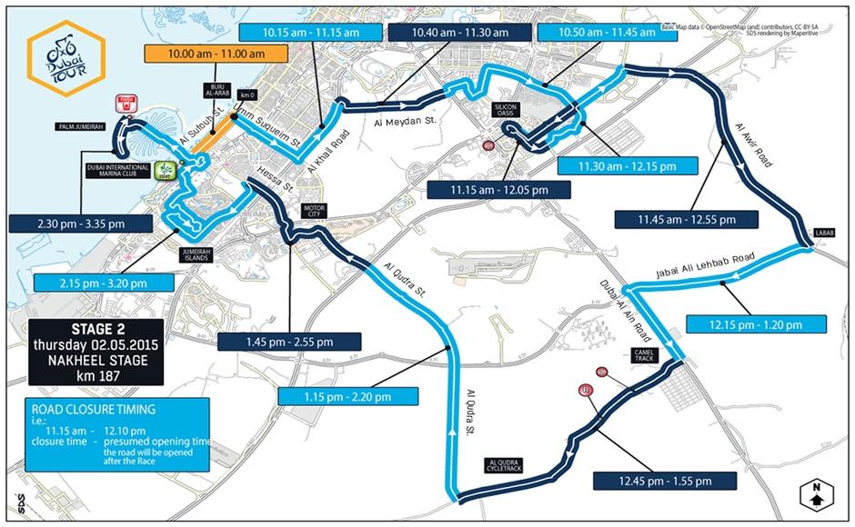 Dubai Tour 2015 Stage 2