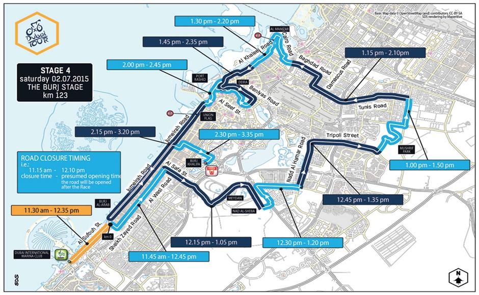 Dubai Tour 2015 Stage 4