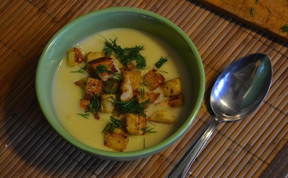 Low Fat Asparagus Soup