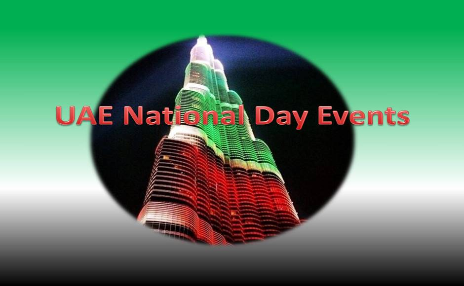 National Day events at Downtown Dubai