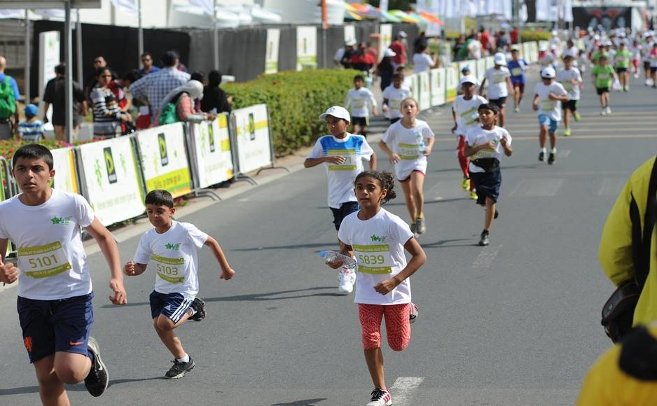 Etisalat Dubai Kids Run 2016