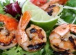 Char Grilled Garlic Prawns