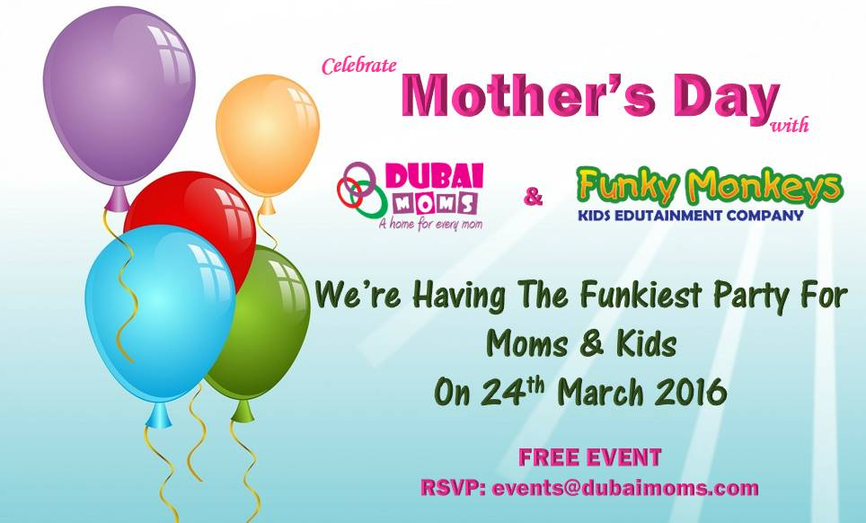 Mothers Day with Dubaimoms