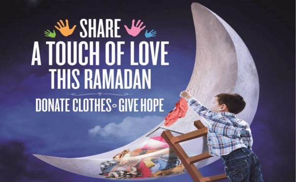 Ramadan clothes donation drive