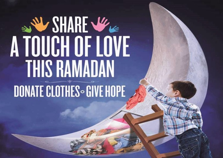 Ramadan clothes donation drive