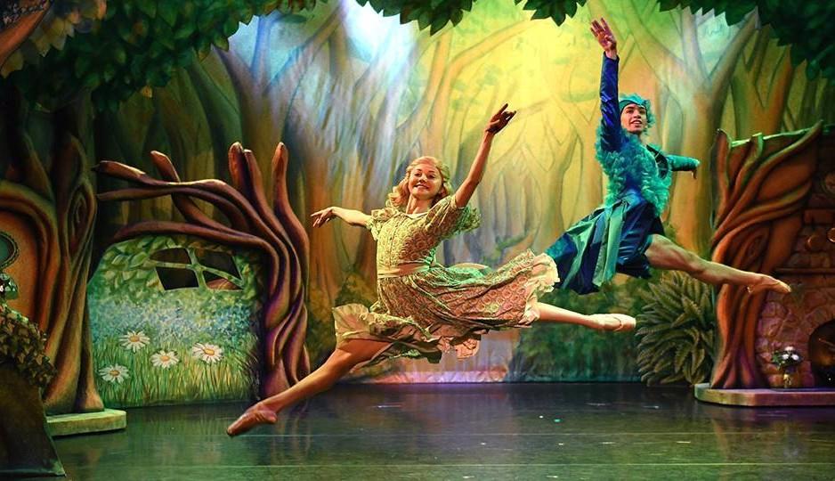 Goldilocks and The Three Bears childrens ballet