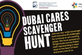 Dubai Cares Scavenger Hunt