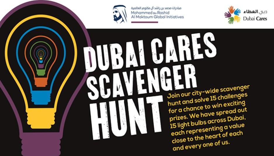 Dubai Cares Scavenger Hunt
